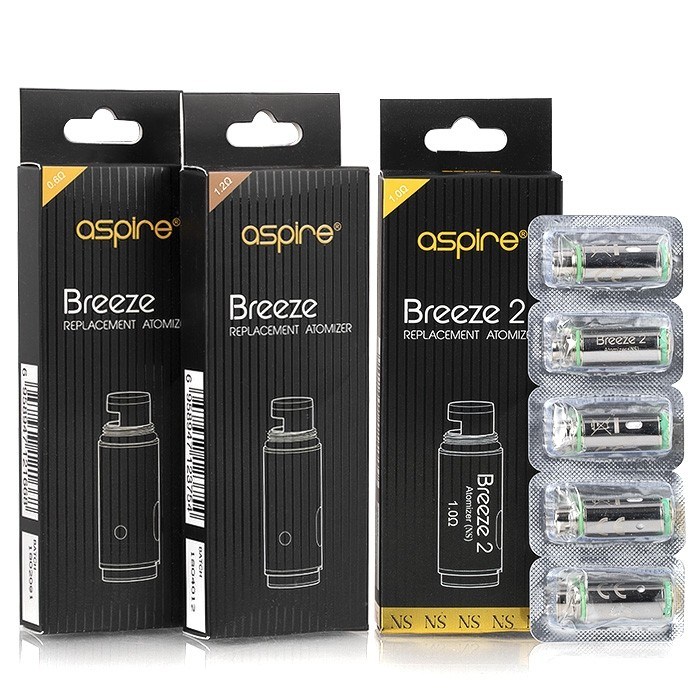 BREEZE 2 U-TECH REPLACEMENT COILS BY ASPIRE